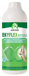 <p>Ekyflex Arthro is the gold standard joint support supplement from Audevard for professionals looking to optimise their horses' joint function. </p> <p>It contains a number of high quality ingredients, chosen for their ability to support healthy joint function & improve mobility. </p>