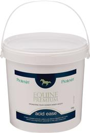 Protexin Acid Ease calms excess acid in the stomach of horses & weaned foals. Horses suffering from stomach (gastric) ulcers can have more acidic stomach contents. Acid ease also helps to protect & soothe the gut lining.