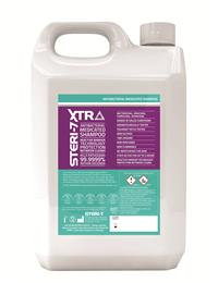 Steri-7 Xtra Medicated Shampoo is antibacterial; antiseptic; soothing to the skin (has been Dermatologically tested) & rinses off easily. It is effective against all the main types of bacteria, viruses & fungi.