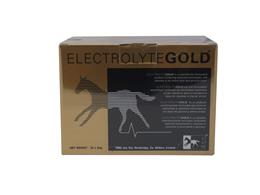 Electrolyte Gold has been scientifically formulated to give your horse the essential electrolytes and vitamins required in a glucose and amino acid base. Electrolyte Gold also benefits from high levels of antioxidant Vitamins E (1000iu) and C (750mg) which helps protect the muscle tissue by eliminating ?free radicals? noxious by products of exercise.