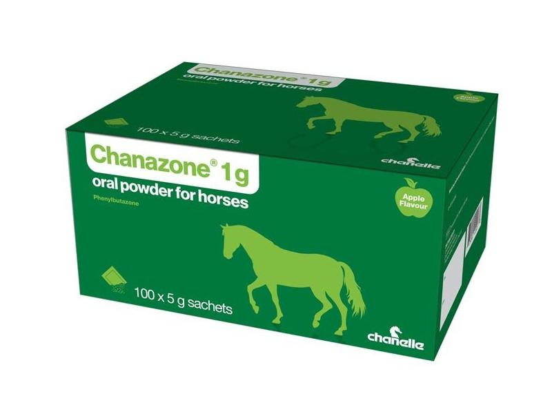 Chanazone 1g Oral Powder for Horses 5g Sachet