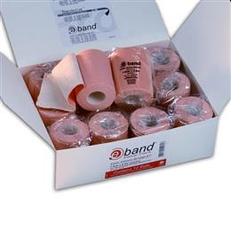 E-Band is a premium quality, elasticated, adhesive bandage, that is used to hold other bandages/dressings in place or for support or compression.