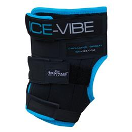 Horseware Ireland Ice Vibe Vibrating Therapy Hock Boots are a revolutionary product that cool & massage your horse's legs at the same. They can be used after exercise as a preventative or they can be used to treat tendon or ligament injuries or sprains.