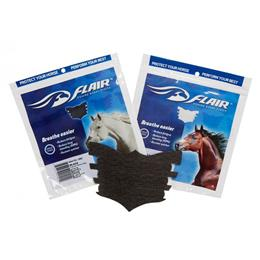 Flair Nasal Strips are designed to maximise your horse's oxygen intake & therefore performance. They prevent the soft, outer nasal passages from collapsing during strenuous exercise, enabling effective airflow to be maintained, making breathing easier.