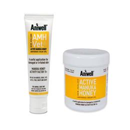 Aniwell Active Manuka Honey Vet Cream benefits from all the antibacterial & healing properties associated with active manuka honey, in an easy to apply cream.
