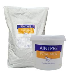 Aintree Foal Milk is a complete replacement mare's milk feed for foals, that contains all the essential nutrients, vitamins & minerals required for healthy growth & development.