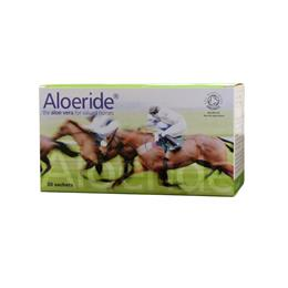 <p>Aloeride is a certified organic, palatable Aloe Vera powder. One month supply of Aloeride sachets contains the equivalent of 12 litres of Aloe Vera juice. Aloeride contains a much higher concentration of Aloe Vera than other products on the market. </p>