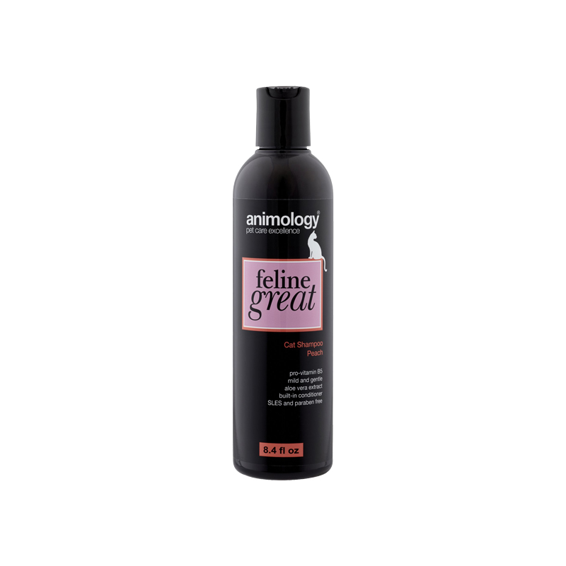 Animology Feline Great Shampoo Peach