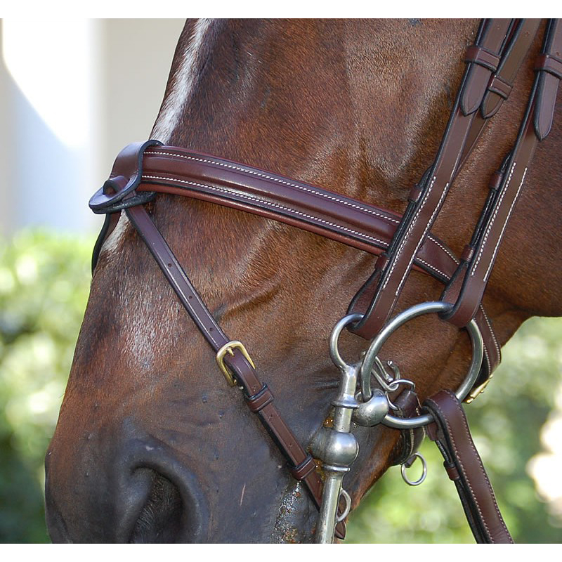 Dy'on Flash Noseband Double Bridle (B130)