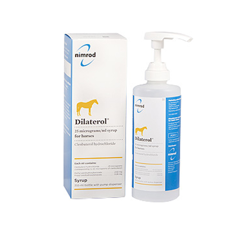 Dilaterol 25 mcg/ml Syrup for Horses 355ml