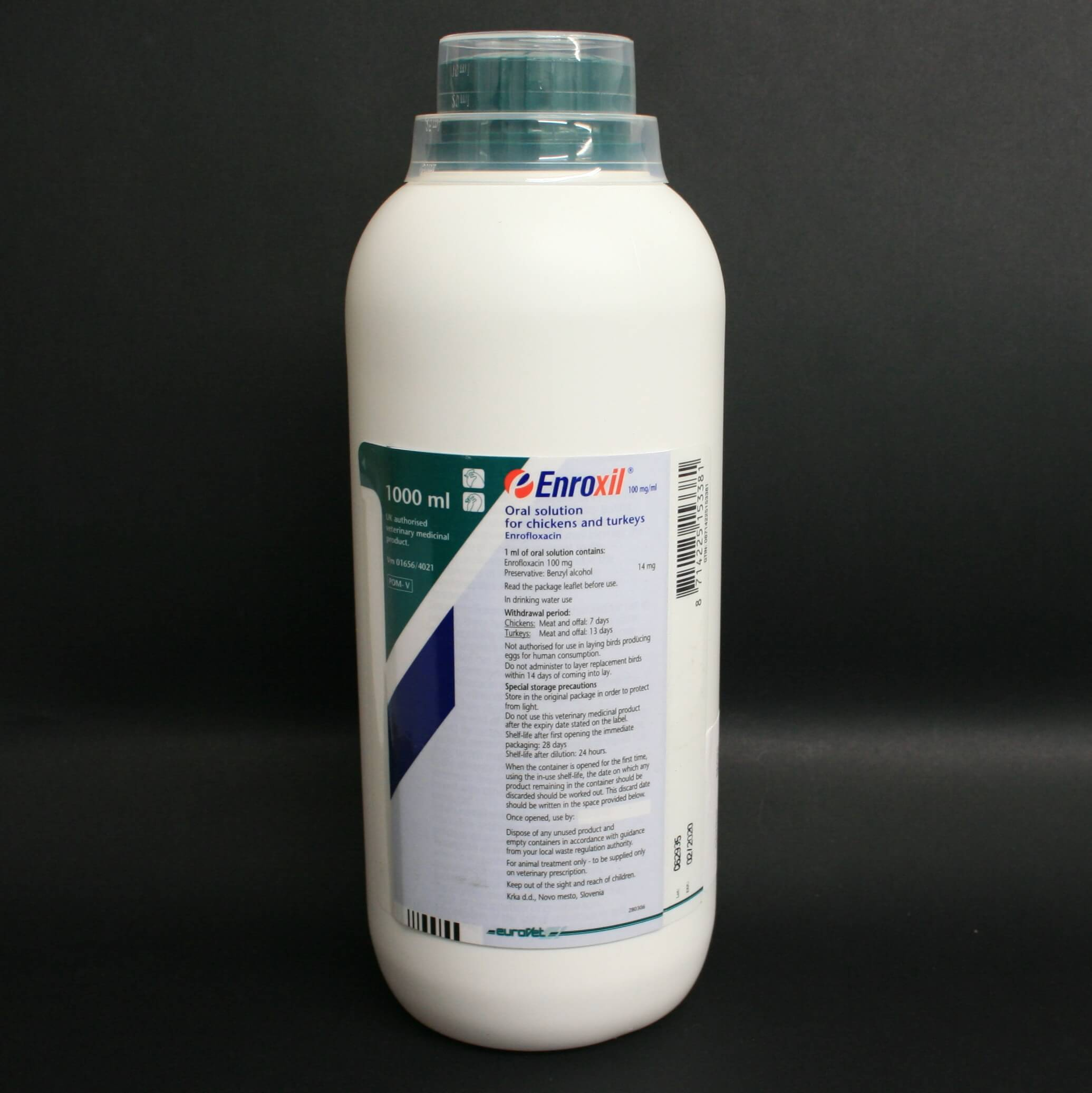 Enroxil 100 mg/ml Oral Solution 1litre