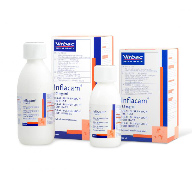 Inflacam 15mg/mL Oral Suspension for Horses