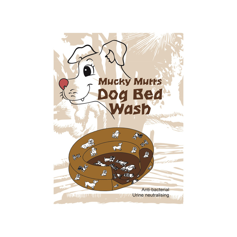 RugSafe Mucky Mutts dog Bed Wash Tropical