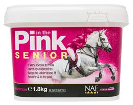 NAF in the Pink Senior is specifically formulated to meet your older horse's needs. As well as containing all the essential vitamins & minerals, it has pre & probiotics for optimum gut health; natural antioxidants & Glucosamine & MSM to support the joints.