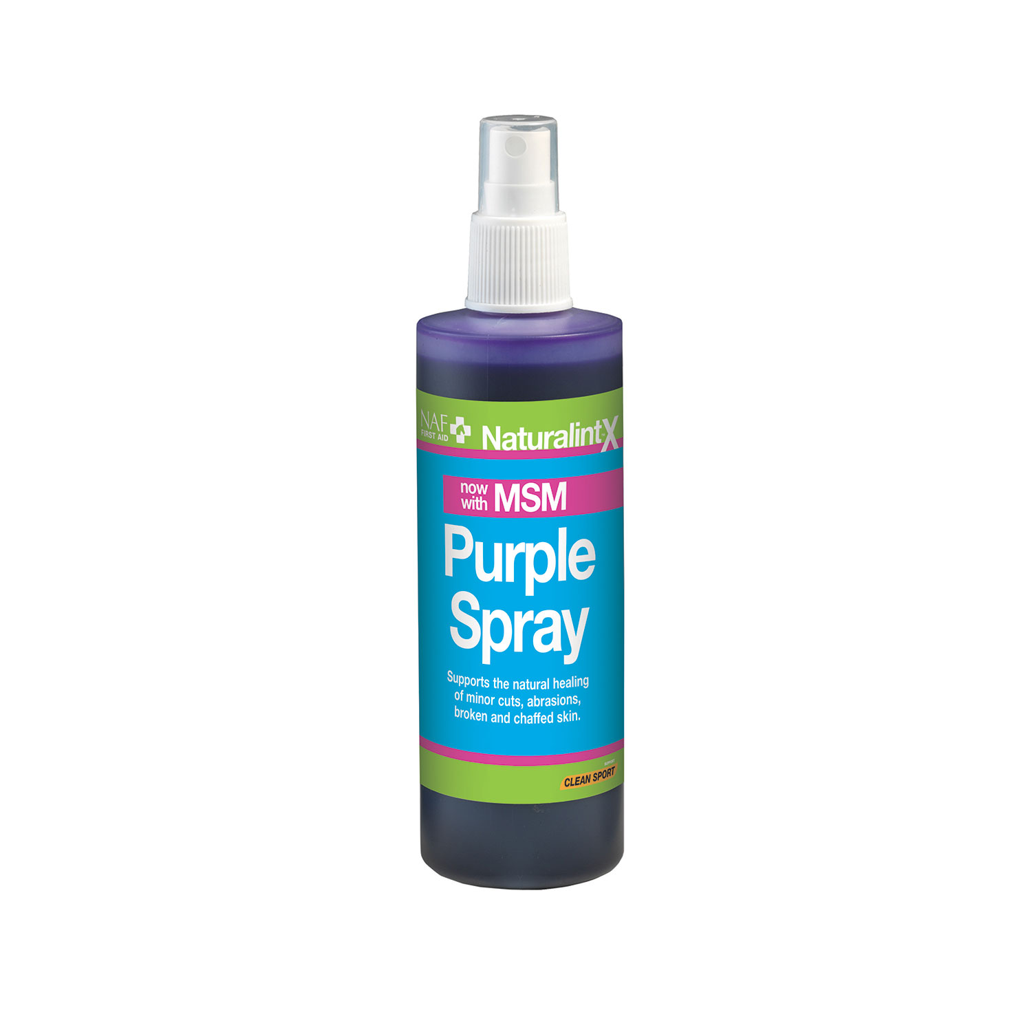 NaturalintX Aloe Vera Purple Spray