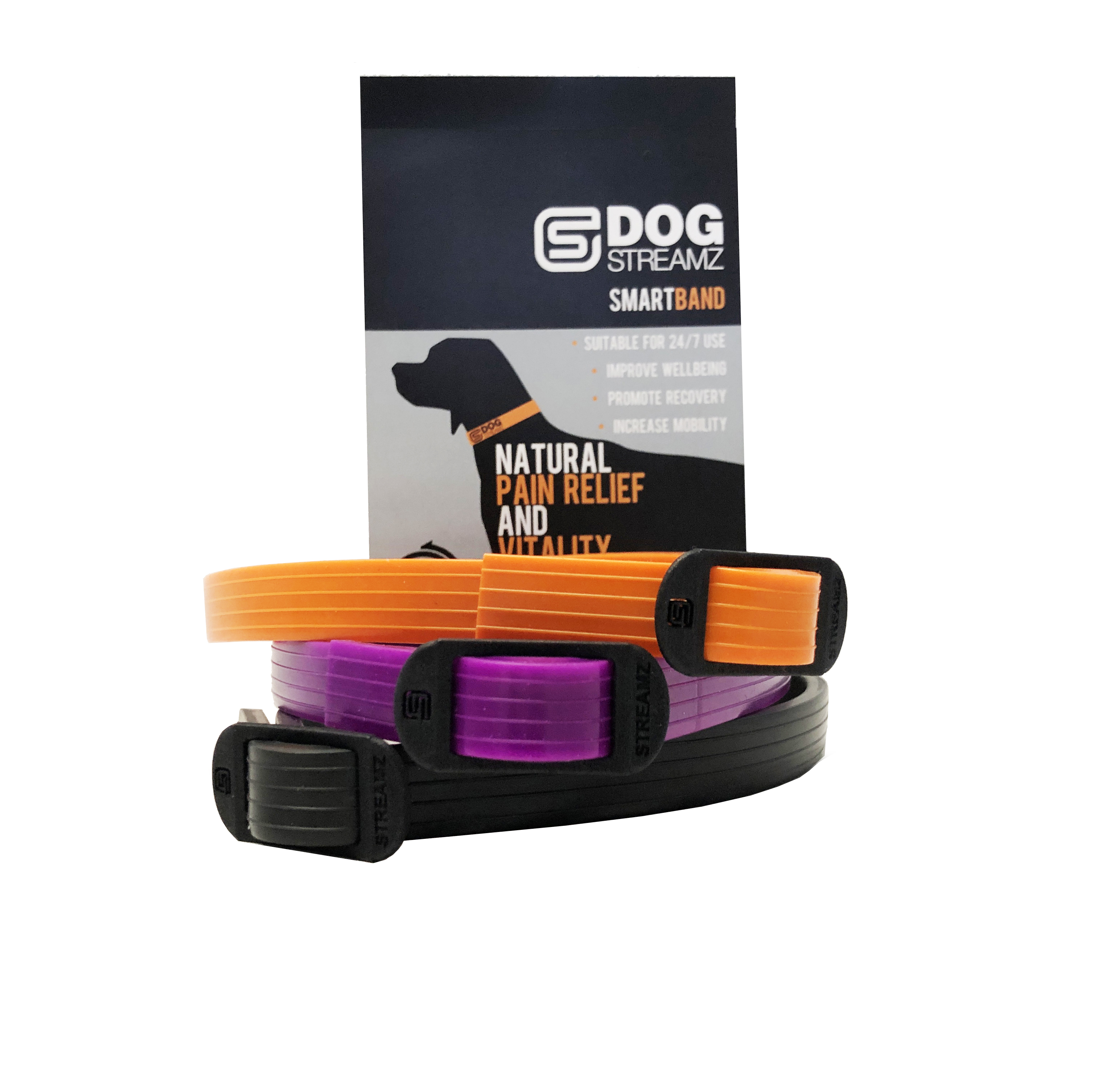 Dog StreamZ Smart Collar (Silicone) Small