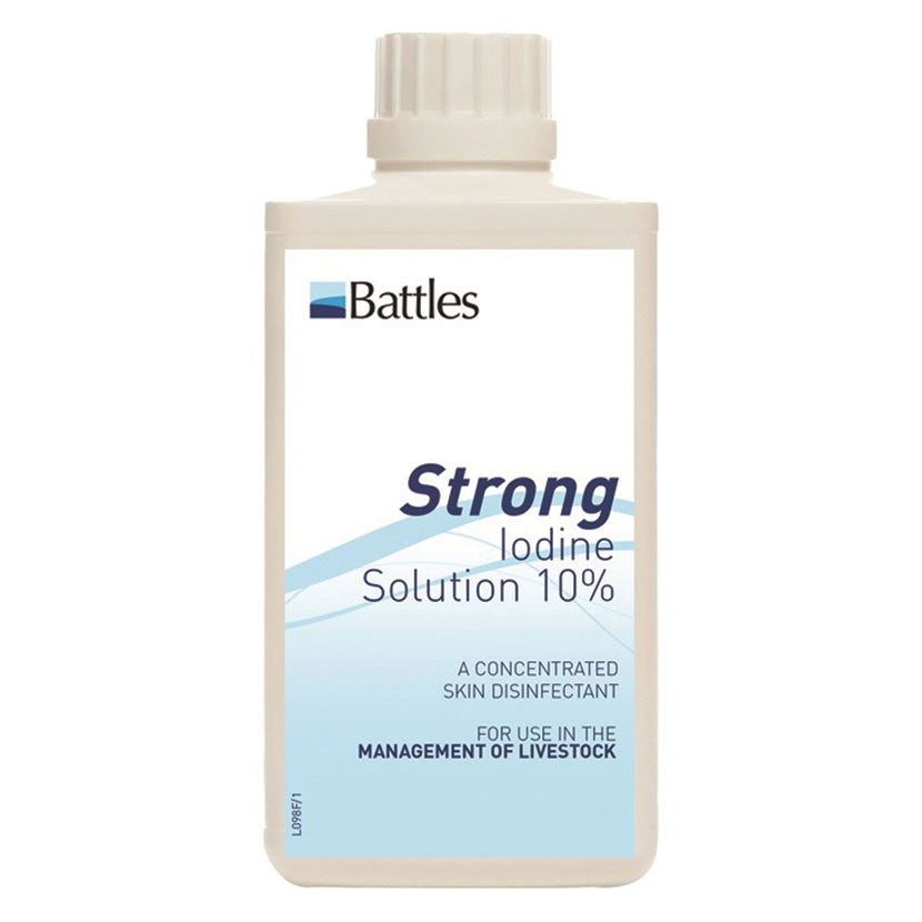 Strong 10% Iodine Solution