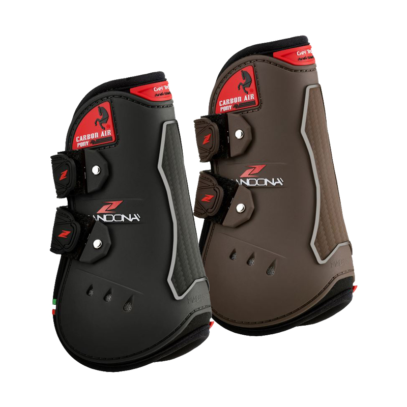 Zandona Carbon Air Pony Tendon Boots - Velcro