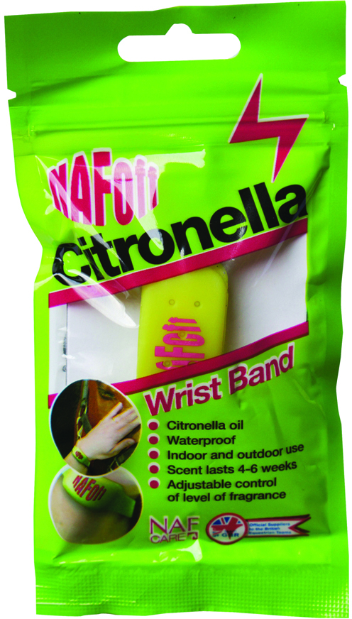 NAF OFF Citronella Wirst Band