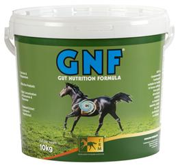 <p>GNF Pellets, is a unique supplement, for daily feeding to horses prone to gastric disturbances. GNF will assist in maintaining optimum gut health and function, allowing maximum utlisation of feed. </p>