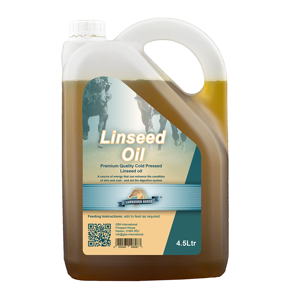 Lambourn Horse Linseed Oil (Cold Pressed) 4.5 litre