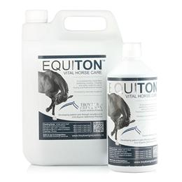 <p> Equiton is a premium quality, balanced liquid feed supplement, formulated by Ireland's top Vets & nutritionists. It contains 8 essential vitamins, 11 minerals & trace elements, as well as vital amino acids. It's ideal for competition, breeding & race horses, but can be used for any horse you want to be at their best. </p>