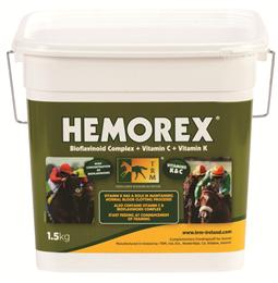 Hemorax Poweder has been specially designed to be fed to performance horses to support the pulmonary functions.