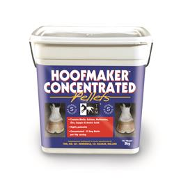 <p> 	Hoofmaker Concentrated Pellets is a complete feed to ensure your horse has healthy hooves. </p>
