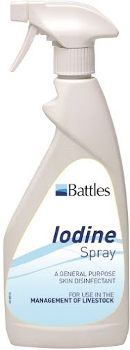 Iodine Spray 500ml