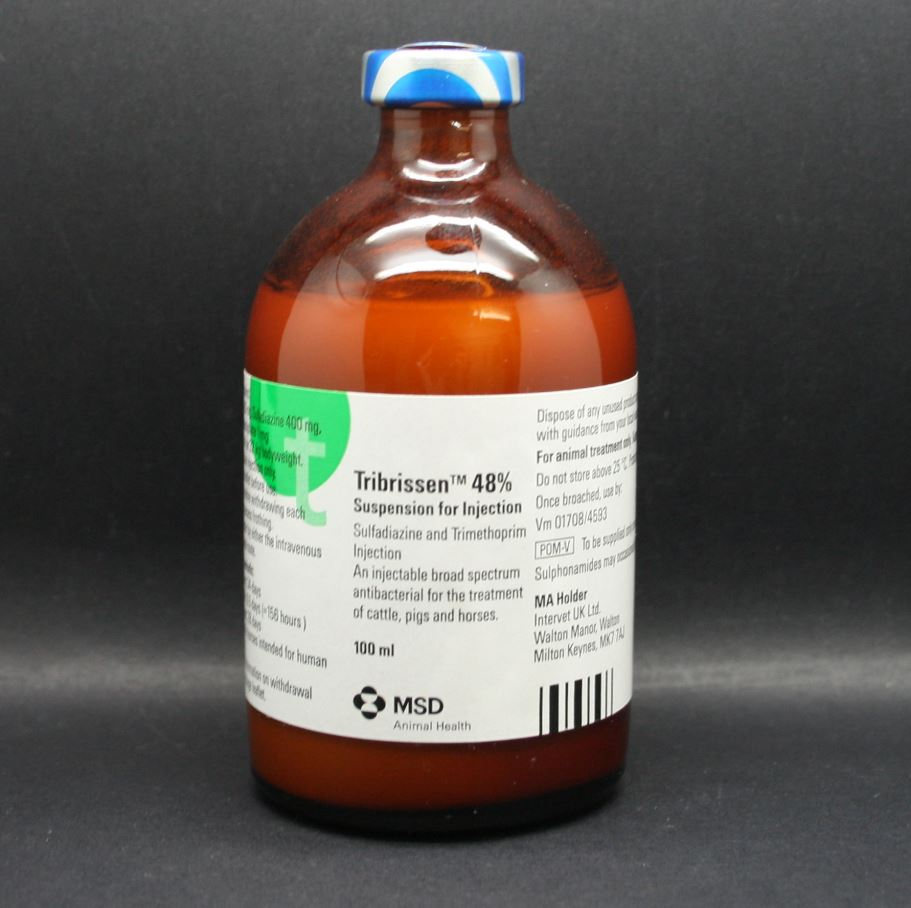Tribrissen 48% Suspension for Injection 100ml