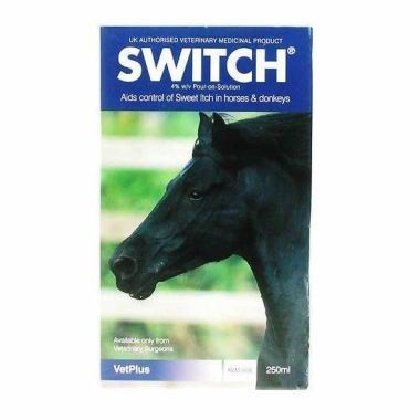 Switch Pour-On Solution 250ml