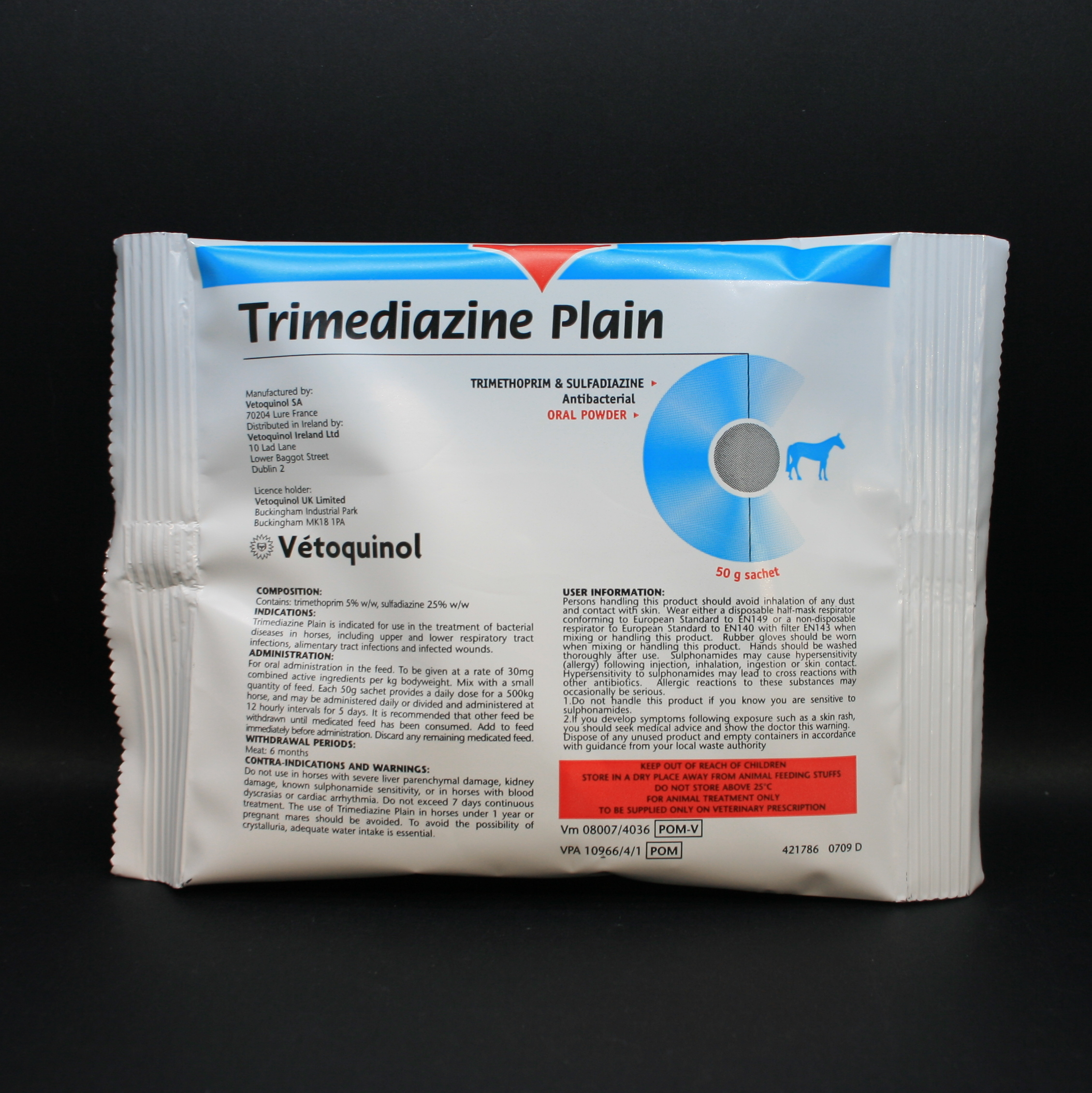 Trimediazine� Plain Oral Powder 10pk