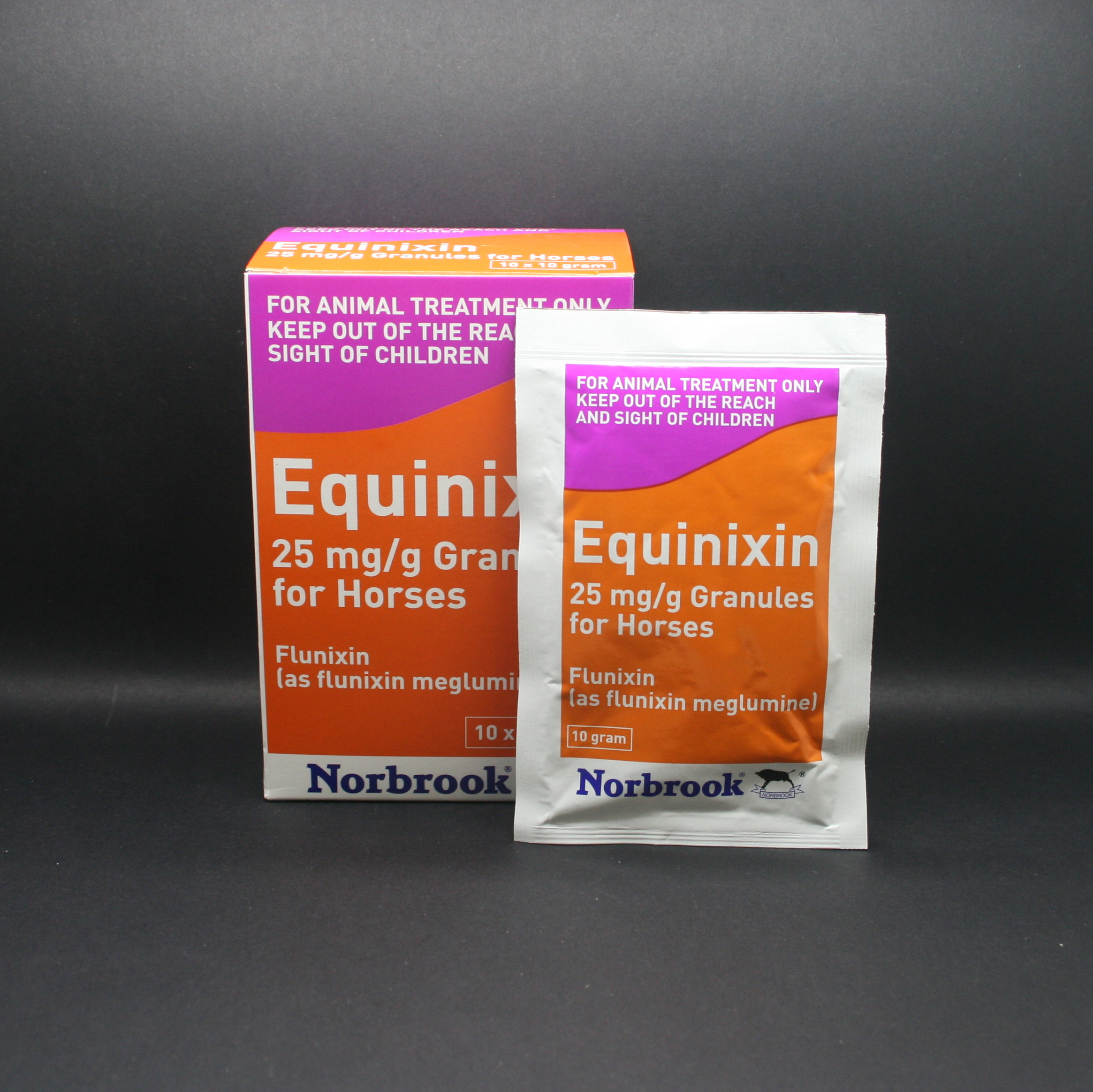 Equinixin 2.5% w/w Granules for Horses (10x250mg sachets)