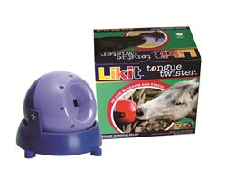Likit Tongue Twisters can be fixed to your horses stable wall, field fence or horsebox. The ball takes two Little Likits & when licked, spins on its horizontal axis, providing hours of entertainment. Scientifically proven to reduce cribbing by 27%.