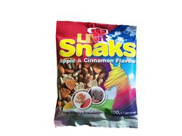 <p>Likit Snaks are yummy, heart-shaped treats that can be used as a training aid or reward, or even used in snack balls to keep your horse entertained. They are low in sugar & contain only natural flavours & colours. </p>