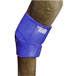 Cold One 4-in-1 Wraps contain freezable gel & are extremely adjustable, so can be used on hocks, hooves, fetlocks & knees. They are fantastic at providing cold & compression therapy after exercise or injury.