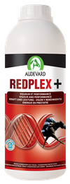 <p>Redplex + is a supplement formulated by Audevard, designed to support horses in hard work & increase their red blood cell production. </p>