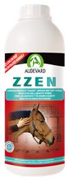 <p>Zzen is a calming supplement, formulated by Audevard. </p> <p>It contains Magnesium; Tryptophan Vitamin B1 & B6, ingredients found in succesful calming supplements. </p>