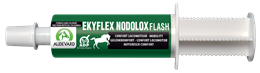 <p>Ekyflex Nodolox Flash is a nutritional supplement designed to support the musculoskeletal system. It is useful for both sport horses in work or horses suffering from arthritis. </p>