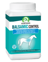 <p>Balsamic Control is a nutritional supplement for use in young horses prone to respiratory issues or for horses living in a dusty environment. </p>