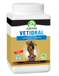 <p>Vetidral is a high quality electrolyte powder formulated by Audevard. </p>