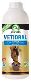 <p>Vetidral Solution is a high quality electrolyte liquid formulated by Audevard. </p>