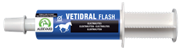 <p>Vetidral Flash is a high quality electrolyte paste that comes in an easy to use syringe & is formulated by Audevard. </p>