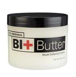Bit Butter contains a special combination of natural oils & butters, which soften your horse's mouth, encouraging acceptance & helping to improve their focus on the bit. It also supports healing if their mouth is already damaged or dry.