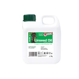 NAF Linseed Oil can help to support your horse's general health, as well as giving their coat a glossy shine. It is rich in Omega-3 essential Fatty acids (including linoleic acid & alpha-linoleic acid).