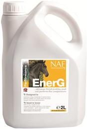 NAF EnerG is formulated to support your competition horse & enable them to perform at their very best. It is rich in iron & all the other vitamins, trace elements & anti-oxidants required to maximise your horse's energy levels & absorption of iron.