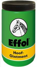 Effol Hoof Ointment nourishes hooves. Laurel & thymol have a antiseptic effect & help to prevent hoof disease, whilst Vaseline is water & dirt repellent, protecting the hoof. Available in 3 different colours: green, yellow & black.