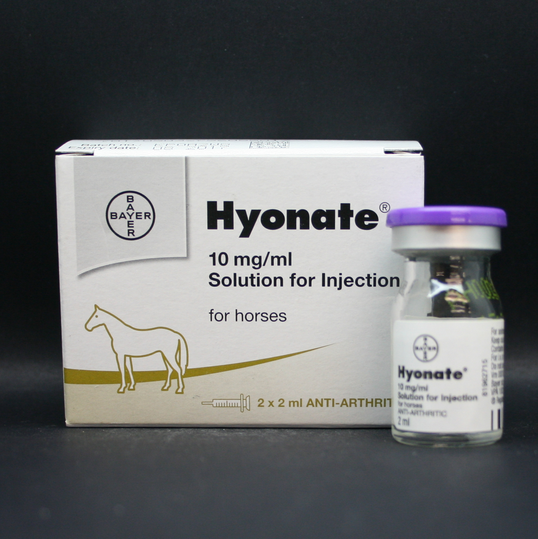 Hyonate 10 mg/ml Solution for Injection (2 x 2ml)