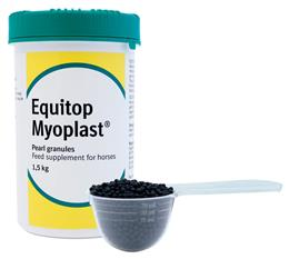 <p>Equitop Myoplast is a top quality muscle building & maintenance supplement, which will help improve performance. It contains 18 amino acids (the building blocks for protein & muscle) including 4 essential ones, that can only be obtained from the diet. </p> <p><br> </p>