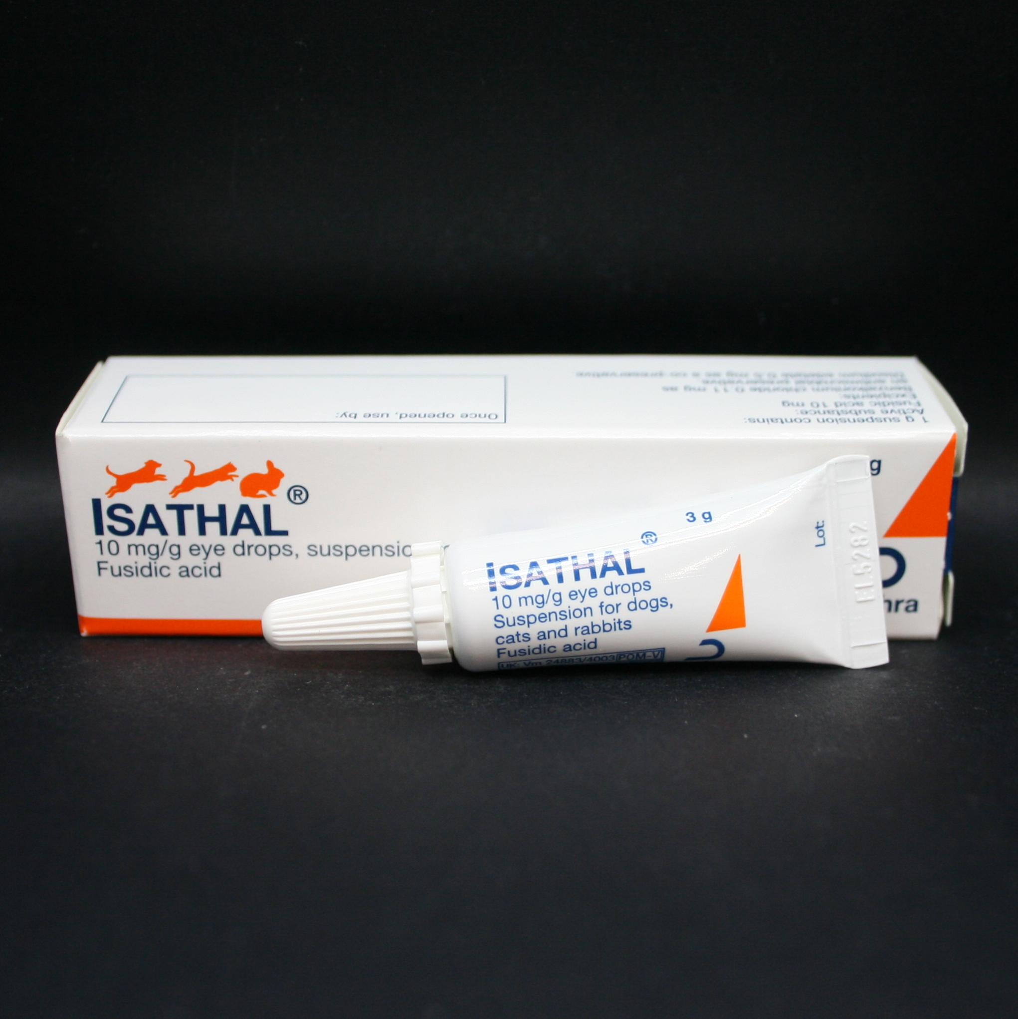 Isathal 10mg/g Eye Drops 3g